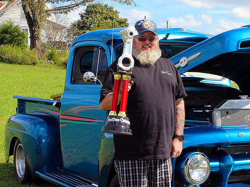 Toys for Tots Car Show First Place